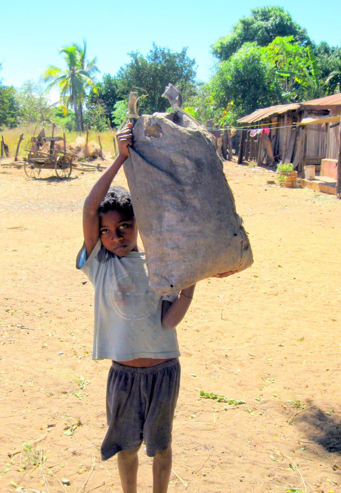 Beaucoup d enfants sont privés de logement d eau et de soins de